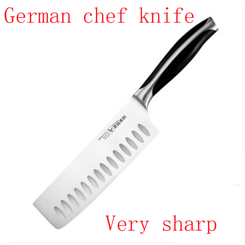 2017 High Quality Kitchen font b Knives b font 7 inch Stainless Steel 5Cr13 As 440C