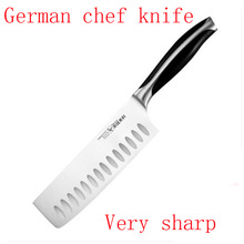 """2017 High Quality Kitchen Knives 7"""" inch Stainless Steel 5Cr13 As 440C Top Grade Sharp Slicing Fileting Knife Chef Knife Knife"""
