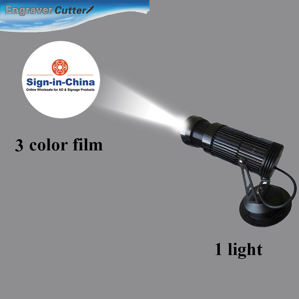 high quality 10w led static gobo advertising logo projector light 1 light 1 three colors film. Black Bedroom Furniture Sets. Home Design Ideas