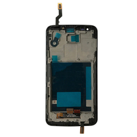 For LG G2 D802 Touch Screen Digitizer Sensor Glass Panel LCD Display Monitor Module Assembly Frame