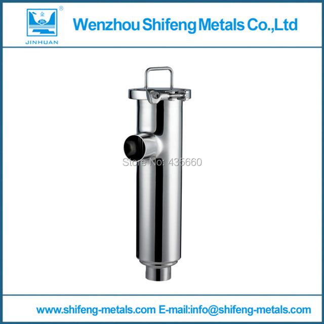 """5 """"102mm SS304 sanitaria weld ángulo tipo de filtro, filtro de acero inoxidable"""