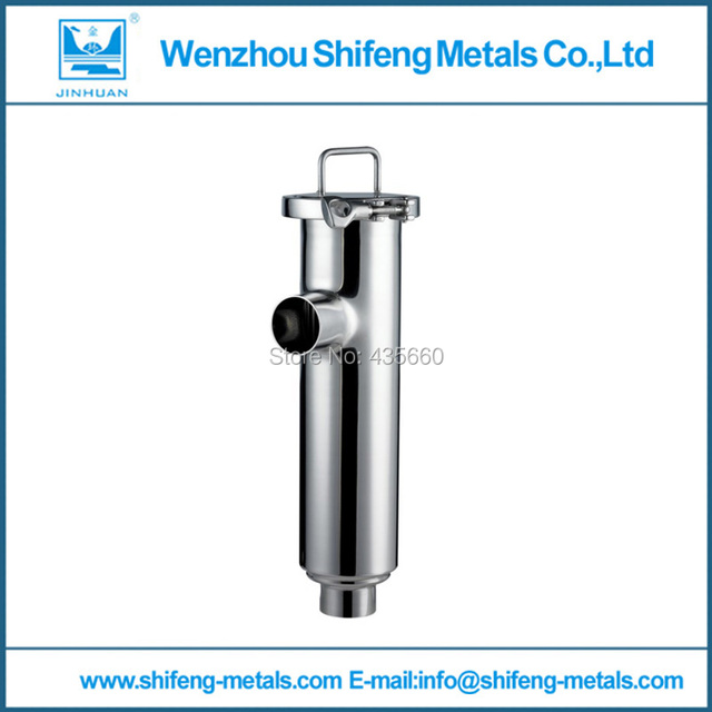 "5"" 102mm SS304 sanitary weld angle type filter, stainless steel strainer"