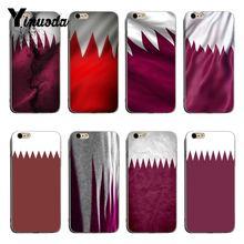 f9c3b5e6f226bb Yinuoda Qatar Flag soft tpu phone case cover For iPhone 8 8plus 7 7plus 6s  6sPlus