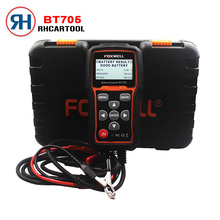 Hot Sale Car Styling Foxwell BT705 bt705 12V Battery Analyzer Tester Directly Detect Bad Car Cell Battery For Car Repaire Garage