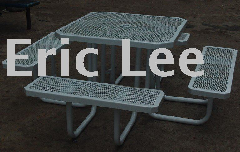 Fine Picnic Table And Bench Picnic Tableset Metal Benches Short Links Chair Design For Home Short Linksinfo