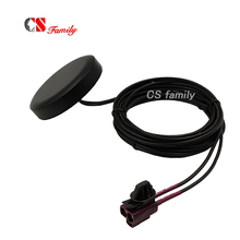 Dual Fakra code D Jack 4G LTE Combination Antennas for Audi