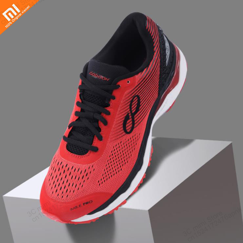 Xiaomi mijia smart running shoes 21k smart chip damping light breathable intelligent AI voice control sports