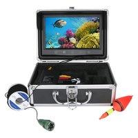 GAMWATER 9 Inch HD 1000tvl Underwater Fishing Video Camera Kit 6 PCS LED Lights With 9