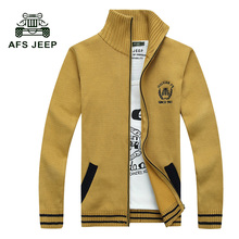 2017 Autumn Mens Fashion Sweaters Knitted Cardigan Knitting Brand Clothing Man's Slim Knitwear Sweatercoats Tops 55z