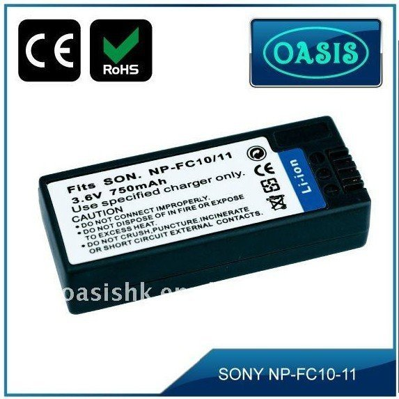 Free shipping Plus 1 year warranty! FC10 FC11 Li-ion Camera Battery Replacement