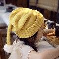 Otoño e invierno de dibujos animados de Corea Solapa Douding sombrero casquillo de la Navidad de los niños de punto sombrero gorro de lana