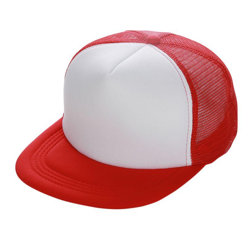 Plain Trucker Hats For Men Women Spring Summer Blank Mesh Snapback ... 37c8855b0a3