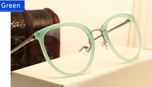 e10f66741c Dropwow KOTTDO 2018 Fashion Retro Eyeglasses Cat Eye Metal Full ...