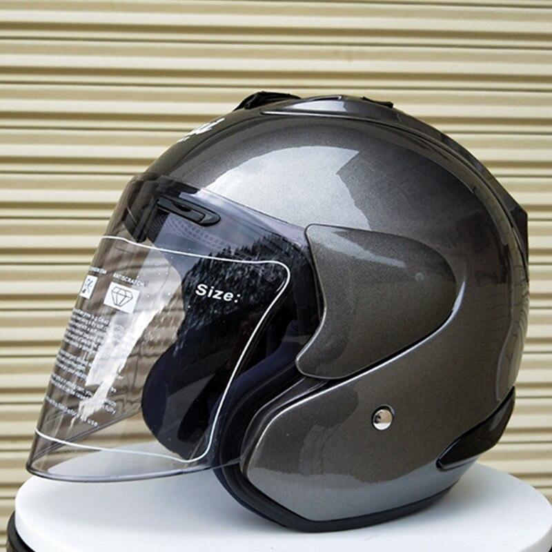 Glorious Hot Sale Arai R4 Motorcycle Helmet Jet Vintage Helmet Open Face Retro 3/4 Half Helmet Casco Moto Capacete Motociclismo,capacete Cheap Sales