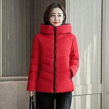 Stand Collar Hooded Winter Jacket Women Autumn Coats Outwear