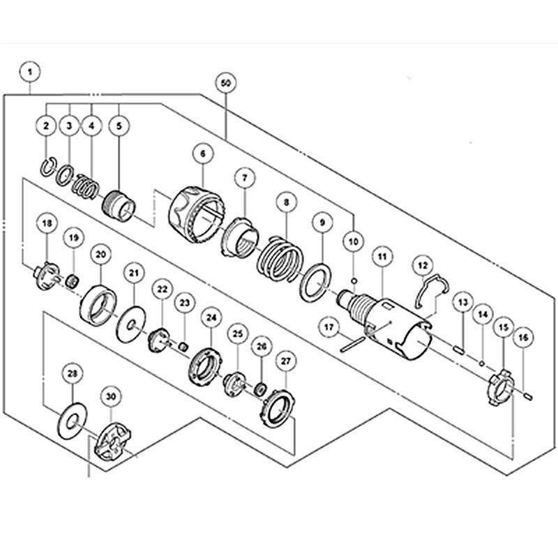 15 Teeth Motor Rs 550vc Spare Parts Set 10 8v 12v For Bosch Gsr1080