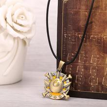 Thousand Sunny Bronze Metal Necklace