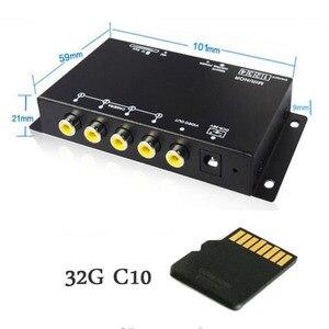 Image 2 - Koorinwoo Panoramisch Systeem Dvr Box 4 Kanalen Beschikbaar Voor Auto Achteruitrijcamera Video Front Side Rear Camera Parkeerhulp