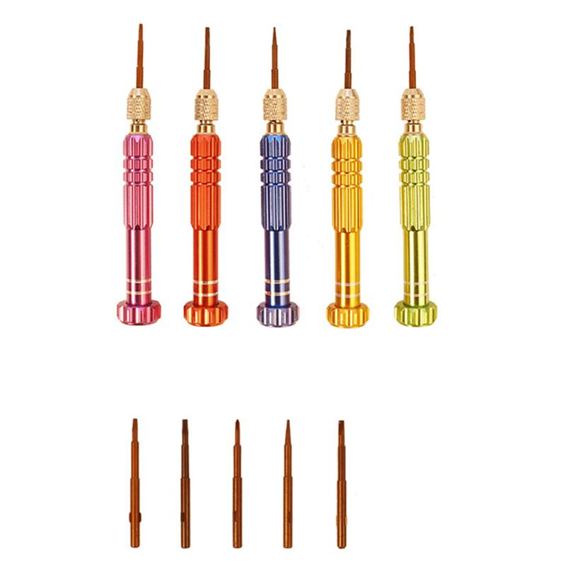 Mini Size Screwdriver Set Professional High Quality Screwdriver Set For Watches Laptops Game Consoles Maintaining Random Color in Screwdriver from Tools