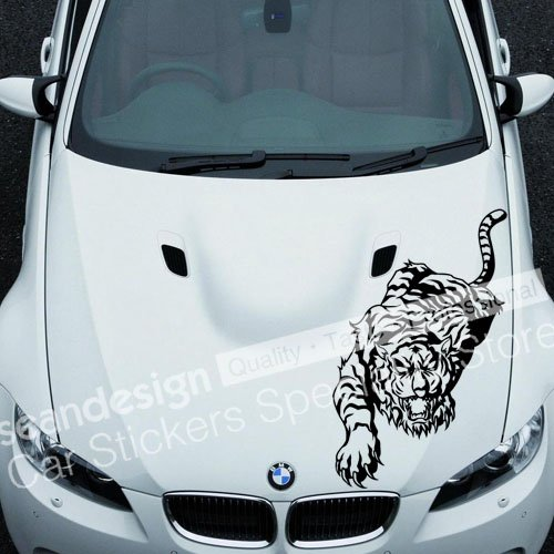 Popular Tiger Car DecalsBuy Cheap Tiger Car Decals Lots From - Cool car decal stickers