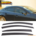 For 2014-2016 Mazda 3 Sedan Hatchback Window Visor Rain Guard