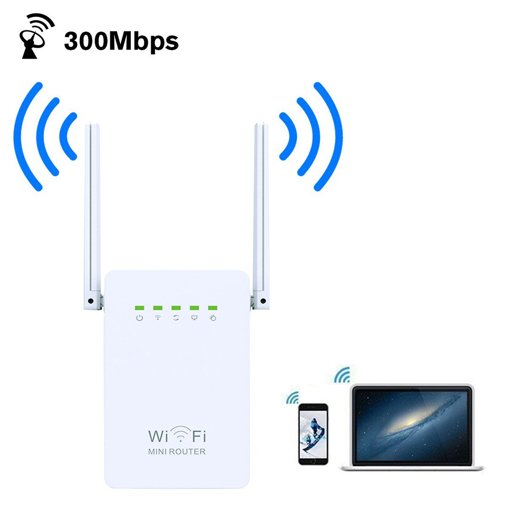 WIFI repeater Network WIFI Range Extender 300M Wireless Booster Mini Repeater/AP WIFI Signal Booster and Access Point With WPS wifi booster 2 4ghz 2w 33dbm repeater 2 4g wifi wireless amplifier 2 4g signal wifi repeater wifi booster