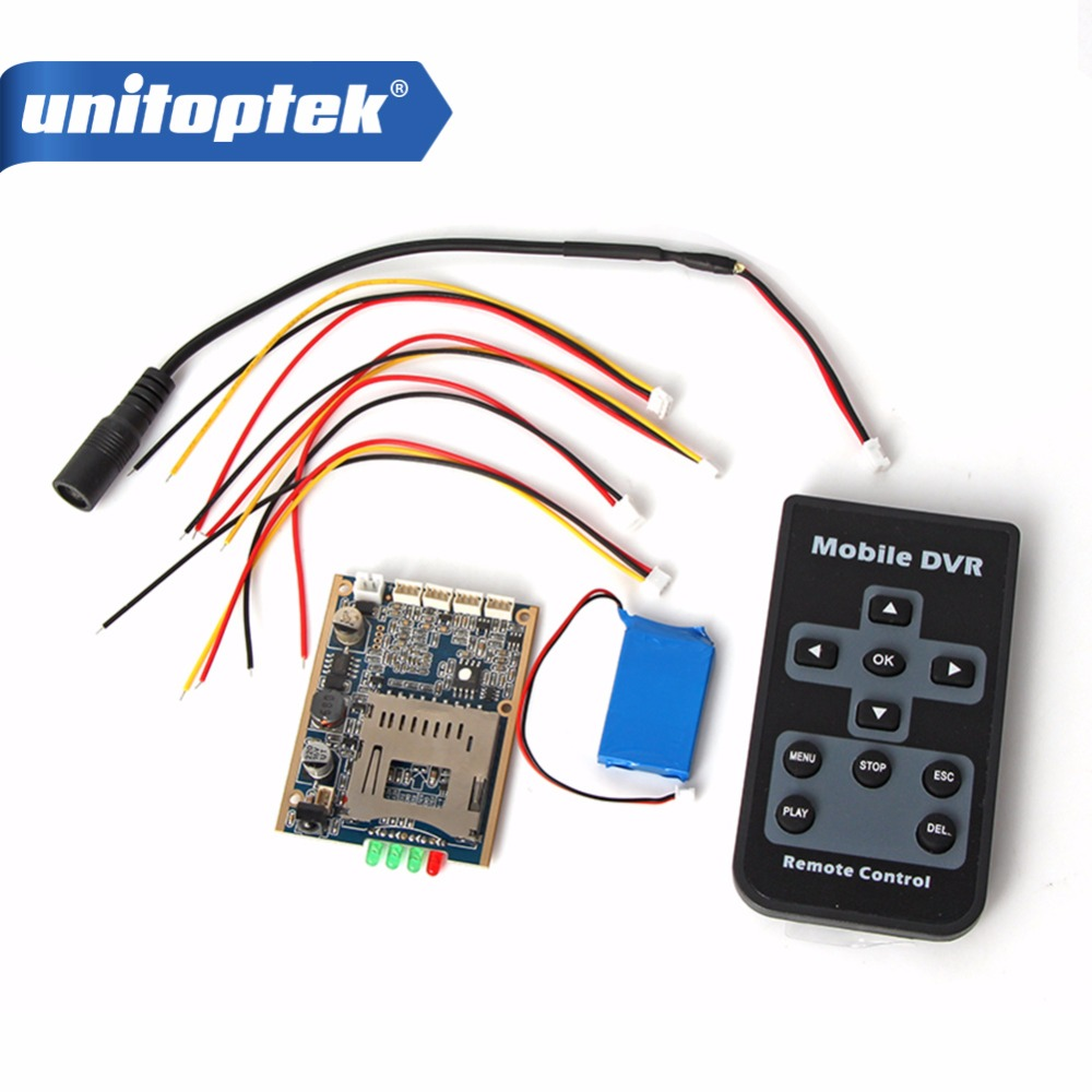 Real time 1CH Mini HD XBOX DVR PCB Board Up D1 30FPS Support 32GB SD Card Security Digital For Model Aircraft Recorder + Battery customized 1 channel mini sd recorder main board dvr module odm offer micro dvr board
