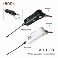 AROMA Wireless Audio Transmission For All Types Of Guitar Basses Guitar Accessories Wireless Electric Guitar Transmitter