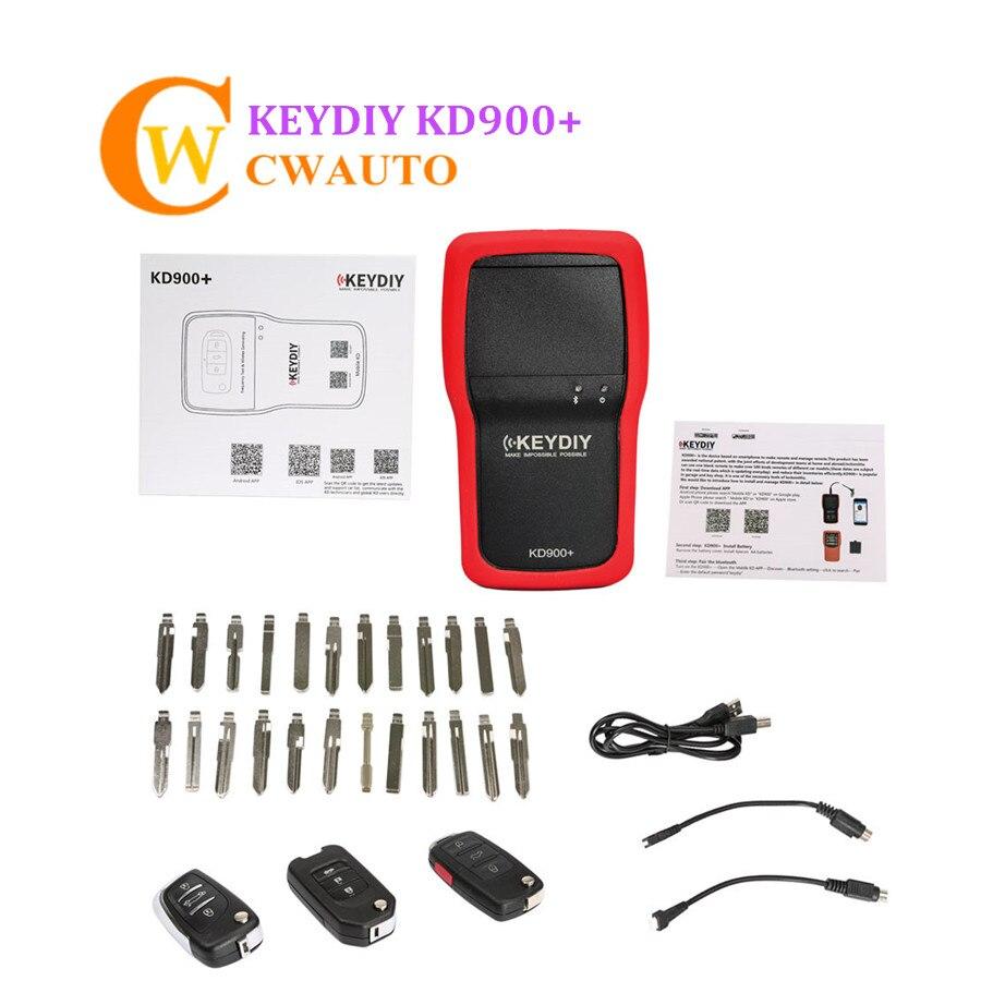KEYDIY KD900 + Fabricant À Distance Le Meilleur Télécommande Clé Générateur Parfait Remplacer KD900 Fabricant de Clés