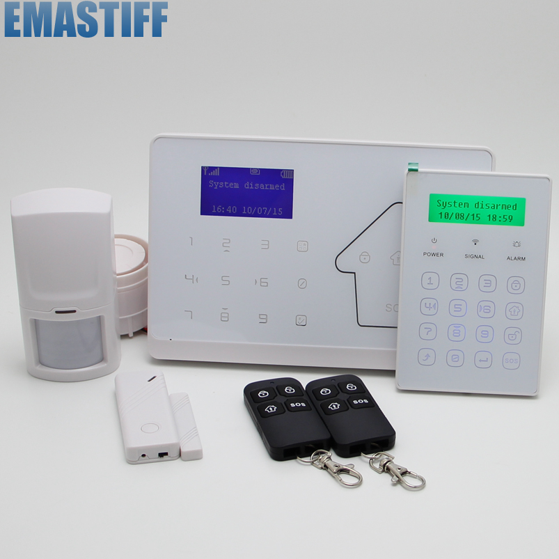 Wireless zone APP Remote Control Android or IOS APP Security Alarm System GSM Alarm System android ios app remote control wifi wireless wired lcd keypad smart gsm alarm system