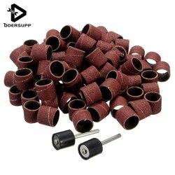 New 100pcs set 1 2 sanding bands kit 2 sanding drum mandrels for dremel rotary tools.jpg 250x250