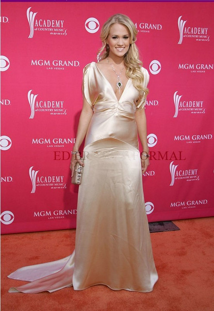 2014 Celebrity Evening Prom Formal Pageant Gown 41st ACM Awards ...