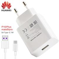 Huawei mate 9 Pro P10 plus szybka ładowarka UE/US/UK 5 v 4.5a & 4.5 v 5a adapter szybka ładowarka USB typu c kabla 1 m 100% oryginalny