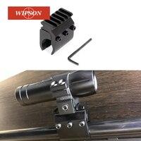 WIPSON 20mm Picatinny Weaver Rail sabitleme kaidesi adaptörü IZH 27 TOZ 34 TO3 34 kapsam dağı dönüştürücü baz el feneri dağı|flashlight mount|rail weaverflashlight weaver -