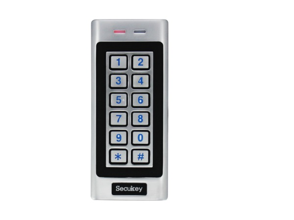 K4 Free Shipping Easy Keypad Secukey Simple Program 12 Keys Non Waterproof Metal Case Backlit Keypad 125KHz EM Card free shipping so easy x660 administrator card add