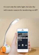 Newest Wireless Remote WIFI Camera IP Cam Baby Child Plush Monitor Intercom H.264 IR Night Vision Table Light Surveillance Cam