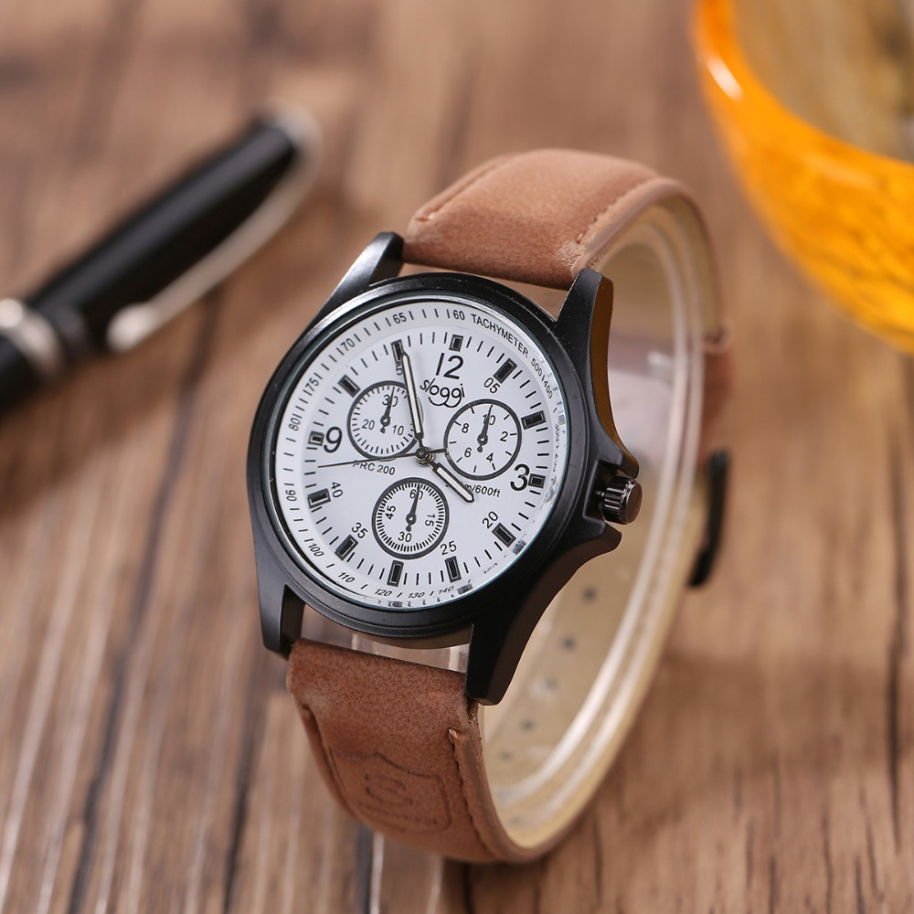 Luxury Brand Sloggi Men Watches Men and Women Quartz Clock Fashion Casual Leather Strap Wrist Watch Male Relogio Uomo watches 2017 men xinge brand business simple quartz watches luxury casual leather strap clock dress male vintage style watch xg1087