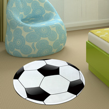 New Cartoon Football Basketball Rug Lollipop Round Carpets And Rugs For Children Room Skidproof Area Carpet Mat Tapete Deco