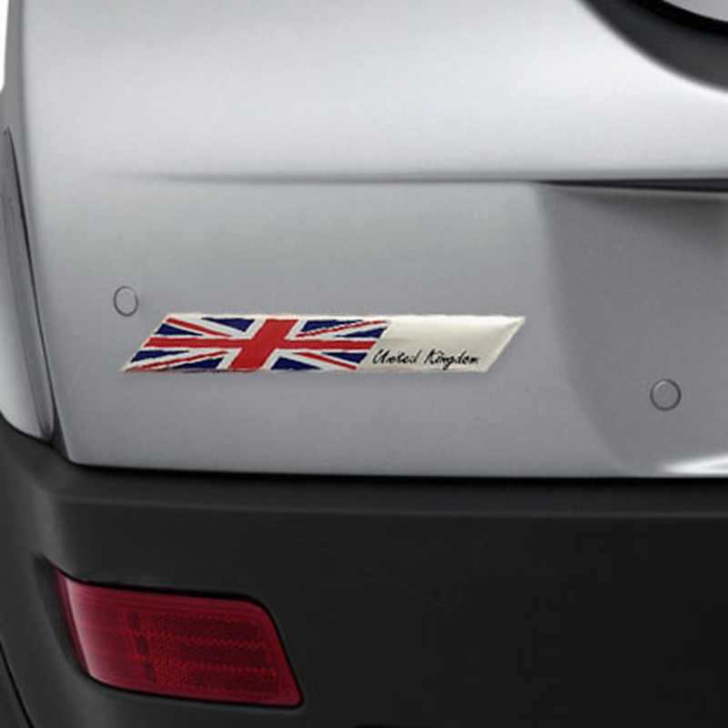 UK USA ITALY FRANCE GERMAN M-POWER JAPAN National Flags SLINE SPORT Car Stickers Automobiles Motorcycles Decorating Accessories