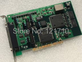 Industrial equipment card contec AD16-16(PCI)EV NO.7313A PCI High-Speed Analog Input Board