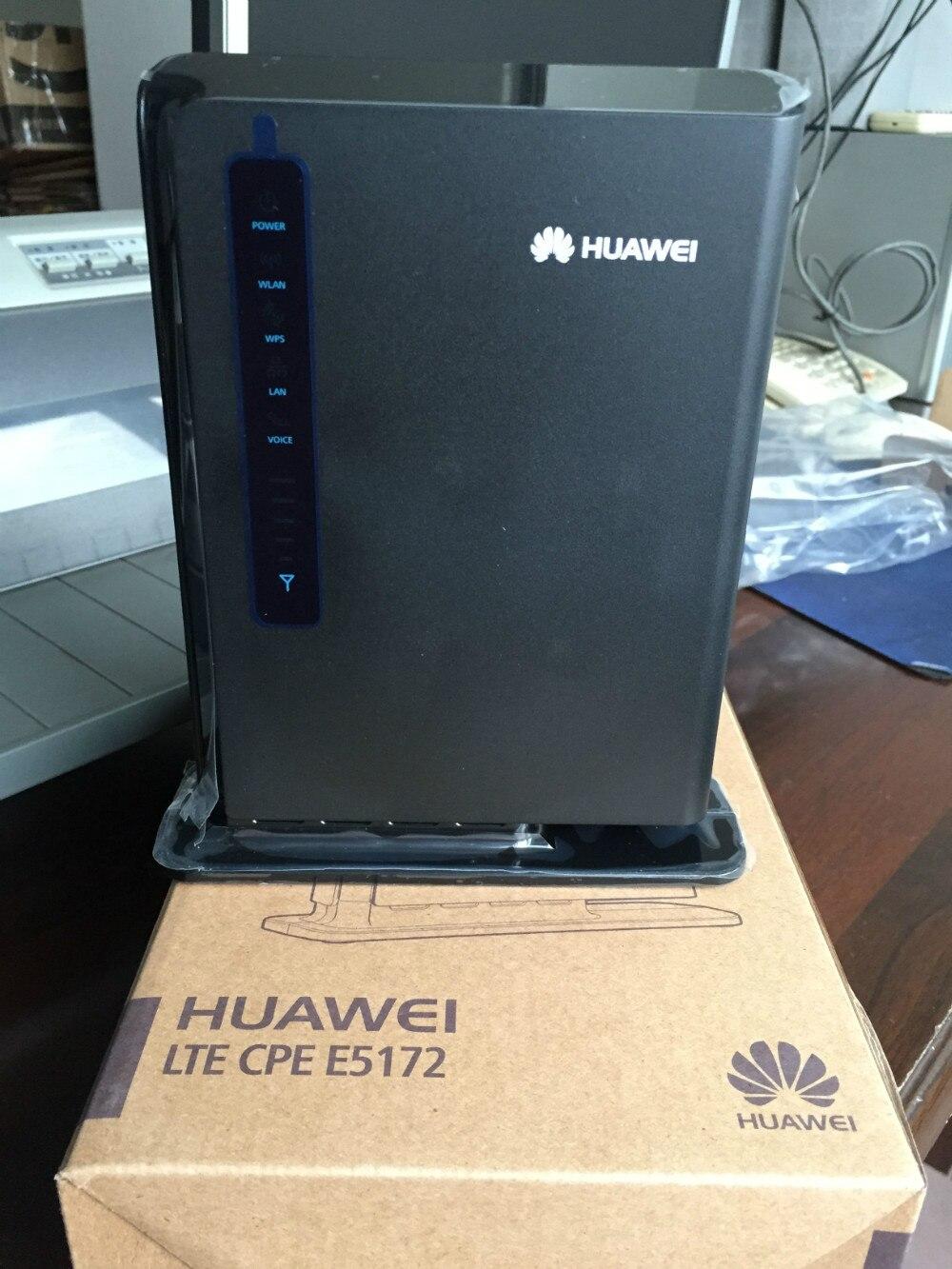 Débloqué Huawei e5172 E5172s-22 4g lte hotspot Mobile 4g lte wifi routeur dongle mifi routeur cpe voiture routeur pk b593
