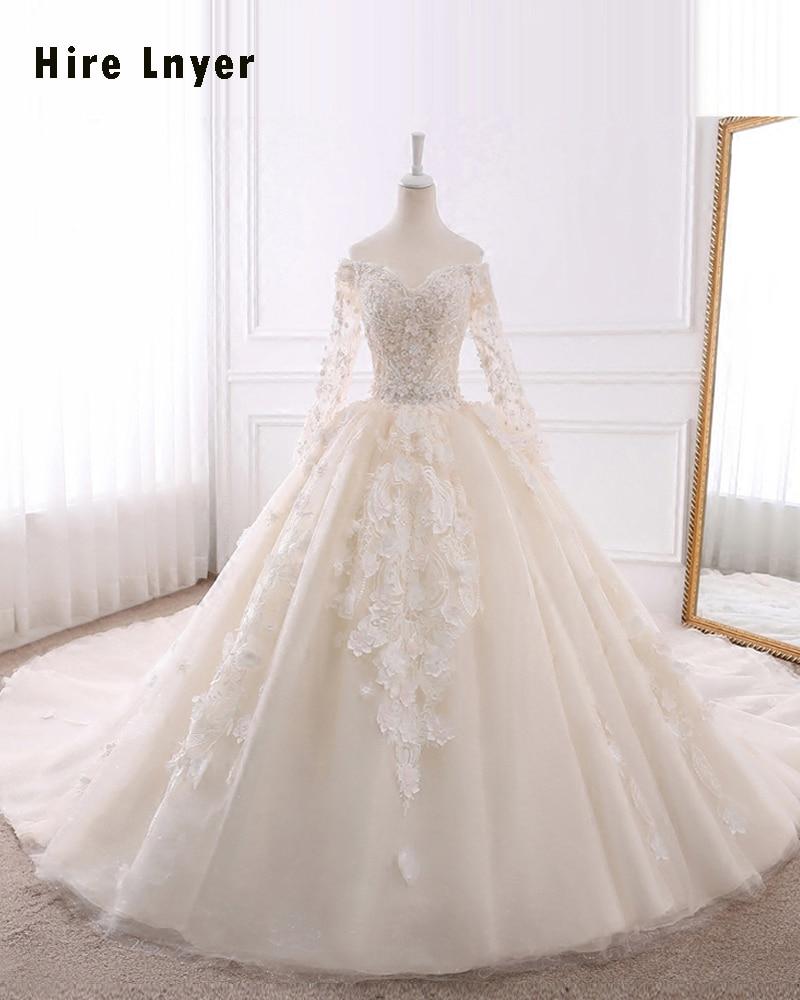 Robe de mariée honorable avec perles