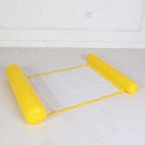 Image 5 - Надувной лежак для бассейна, надувной лежак с плавающей водой, летняя игрушка, надувной лежак, 2019