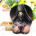 "New Design ""Over Watch"" Reaper Anime 3D Soft Breast Game Mouse Pad Mat Mat Anti-skid with Wrist Rest L26cm *W21cm*H3cm"