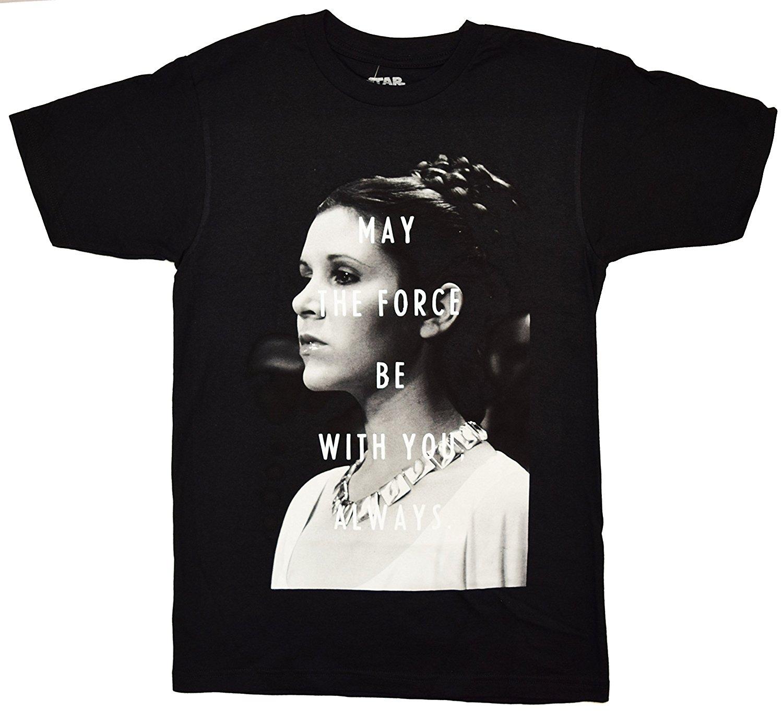 Princess Leia May The Force Be with You T shirt (Large ... Old Princess Leia Shirts