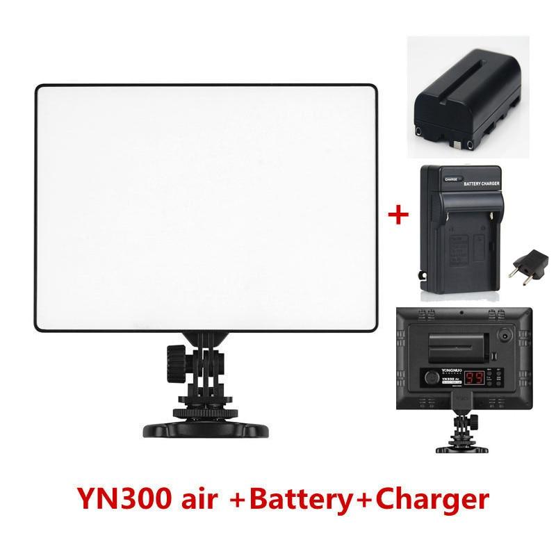 YONGNUO YN300 air YN 300 air yn 300 AIR Pro LED Camera Video Light For Canon
