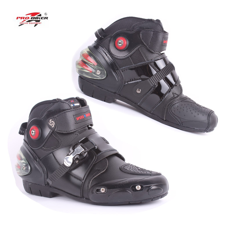 new Pro biker A9003 automobile racing shoes off road motorcycle boots Professional moto black botas Speed