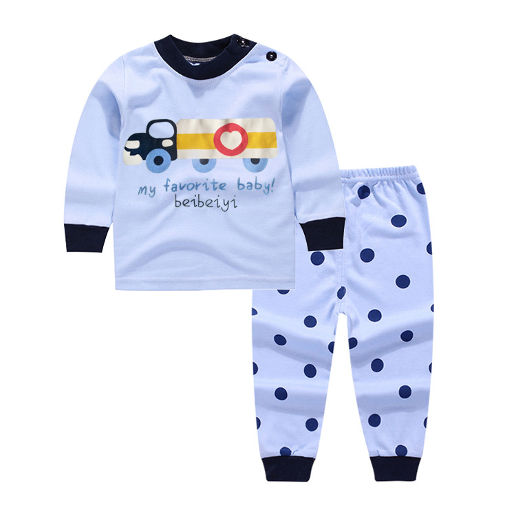 2017 Children Baby Girl Cartoon cars t shirt+pants 2PCS Clothes Set Suit Top Sweater clothing set baby boy Cotton suits Winter summer baby boy clothes set cotton short sleeved mickey t shirt striped pants 2pcs newborn baby girl clothing set sport suits