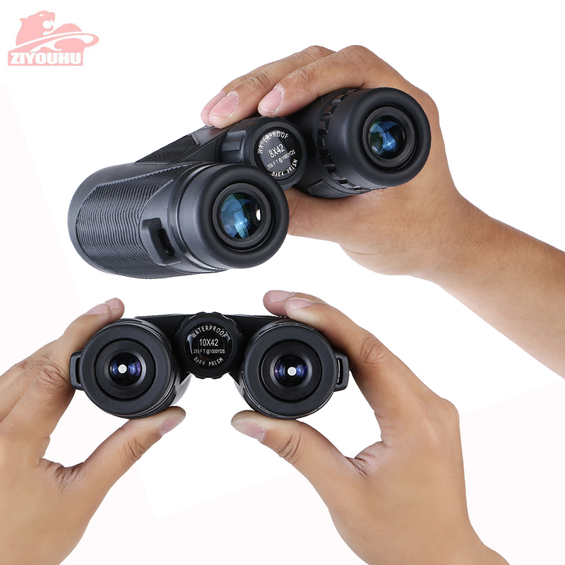 Image 3 - Newest HD Zoom Binocular Telescope 10X Magnification Powerful Waterproof Hunting Low Light Level Night Vision Binoculars Hiking-in Monocular/Binoculars from Sports & Entertainment