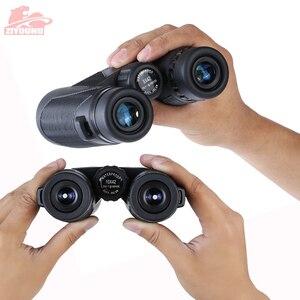 Image 3 - Télescope binoculaire, Zoom HD, grossissement 10X, puissant, étanche, faible niveau de Vision nocturne, randonnée